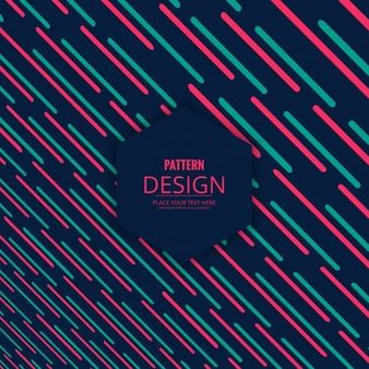 Dark pattern with pink and green stripes