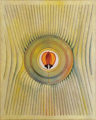 Max Ernst. The Blind Swimmer. 1934