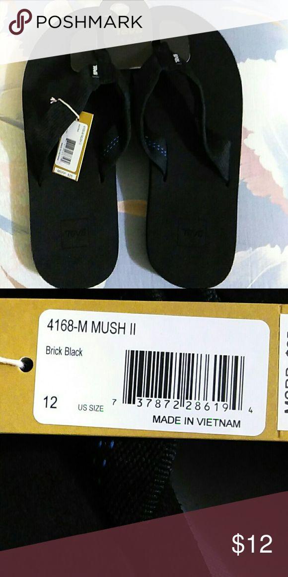 Flip flops New men's Teva flip flops Teva Shoes