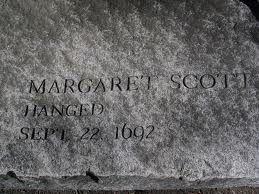 Salem Witch Trials Memorial - Margaret Scott. #salemwitchtrials