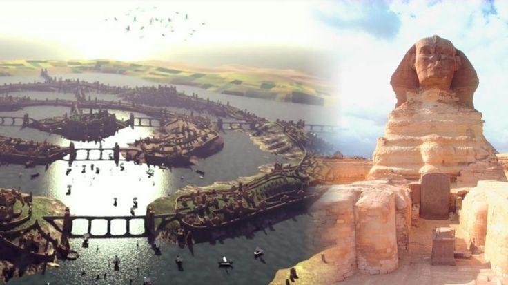 La Grande Sfinge è stata costruita dagli #Atlantidei migliaia di anni fa?