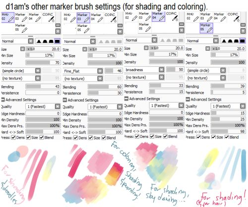 sketch brush paint tool sai - Pesquisa Google