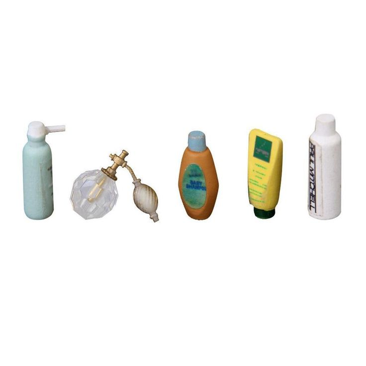 I might already have this pinned.  I can't remember.  --SAOH--  5pcs Bathroom Perfume Shampoo Bath Gel Set for Dollhouse Furniture 1:12 Scale #Unbranded