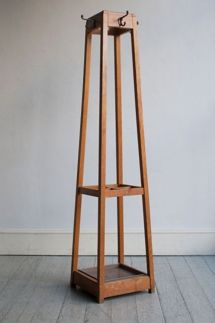Original Oak Coat Stand Howe
