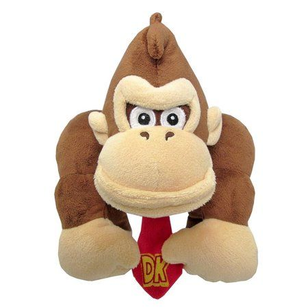 Little Buddy LLC, Super Mario All Star Collection: Donkey Kong 10 inch Plush, Multicolor