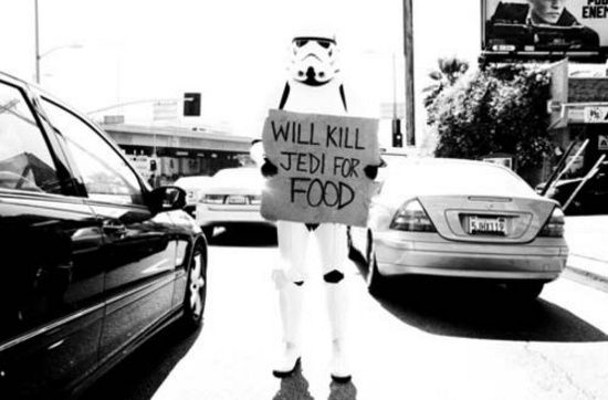 Image result for stormtrooper unemployed