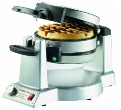 Cook for a crowd with the Waring double Belgian waffle maker with folding handles. http://www.katom.com/141-WMK600.html
