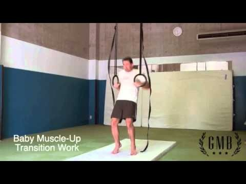 Gymnastic Rings Training - Muscle Up Tutorial - YouTube