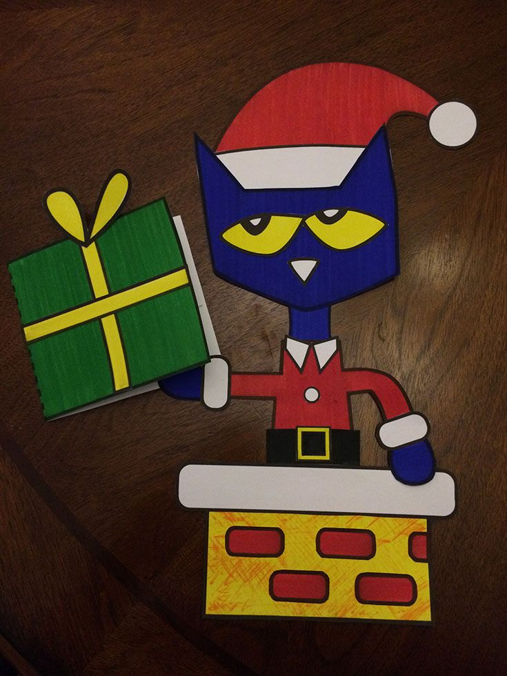$1.50. This Christmas craftivity is a fun book companion to Eric Litwin's book, Pete the Cat Saves Christmas. If your students love Pete the Cat like ours do, they're sure to love this craftivity! :)