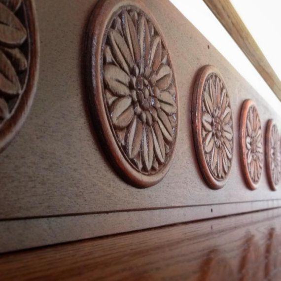 Carved Wood Stair Risers Stair Ideas Stamped Leather