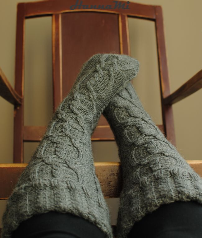 Woolen socks knitting. Villasukat neulominen. Hanna Mi. Yarn/lanka Novita 7 veljestä. Pattern/ohje Drops 103-10
