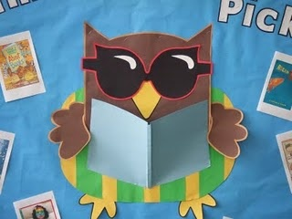 Cute Owl Bulletin Boards | Cute Owl for reading bulletin board |