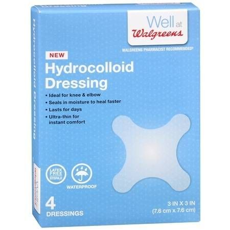 The 25 best hydrocolloid dressings ideas on pinterest sterile walgreens hydrocolloid dressings 3 x 3 inch 4 ea sciox Choice Image