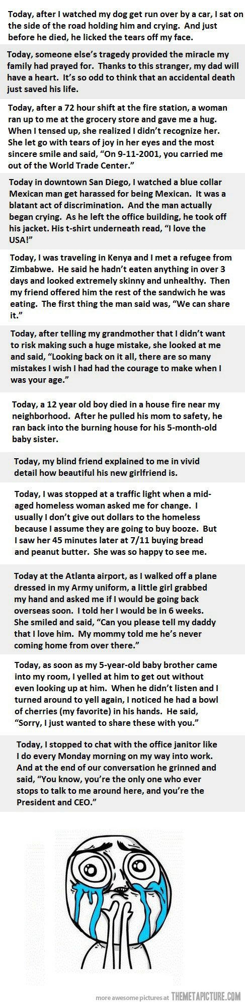 Faith in Humanity= Restored