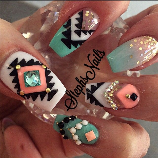 108 best Flashy Nail Art images on Pinterest | Nail scissors ...