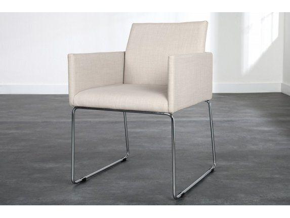 Krzesło Livorno jasnobeżowe — Krzesła Invicta Interior — sfmeble.pl