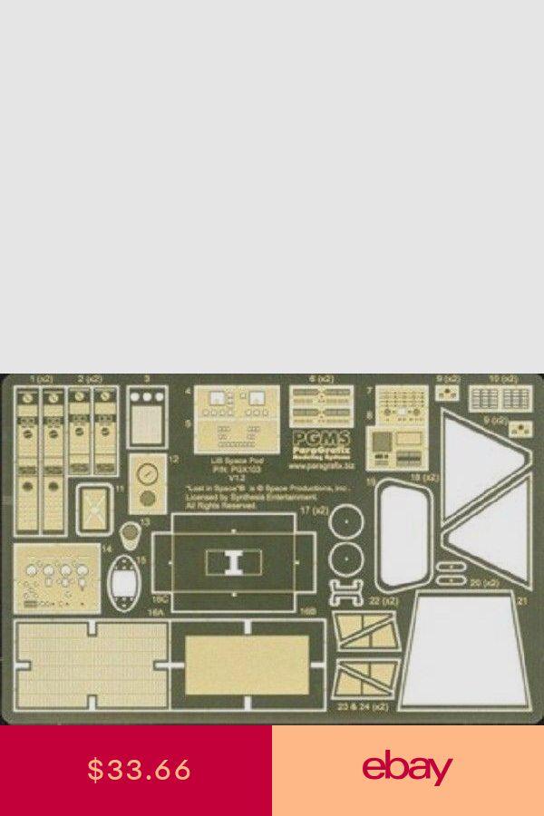 Paragrafix 1//24 LiS Space Pod Photo-Etch /& Decal Set 103 for Moebius