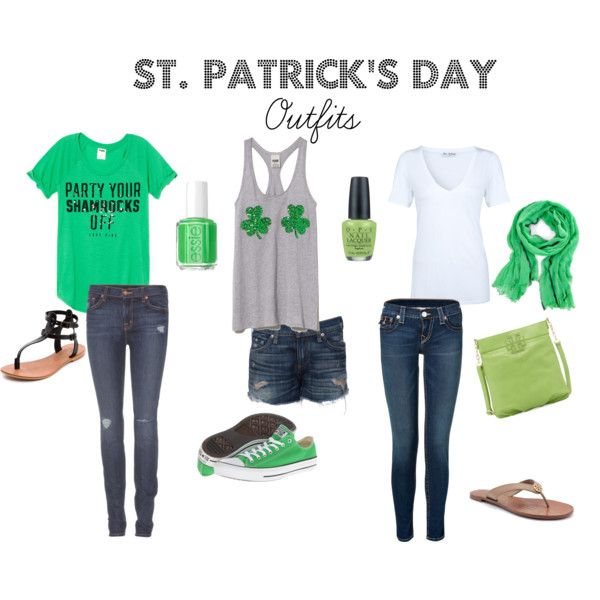 """""""St. Patrick's Day Outfits"""" by jraulerson on Polyvore"""