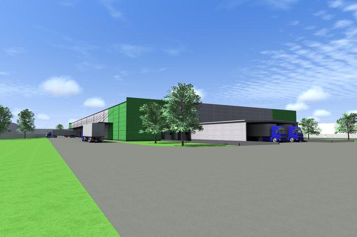 Lagerhalle oder Produktionshalle in Stadt Győr !