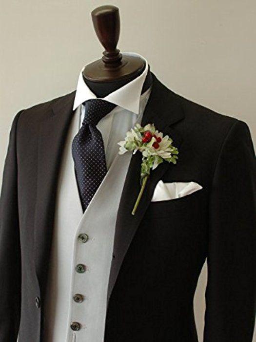 メンズシャツ ウイングカラーシャツ フォーマルシャツ 比翼仕立て ダブルカフス(ウエディング/ブライダル/新郎/白/小物)[M06-4L]