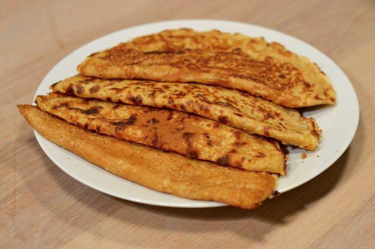 Grove pannekaker med revet gulrot — MATVRAKBLOGGEN