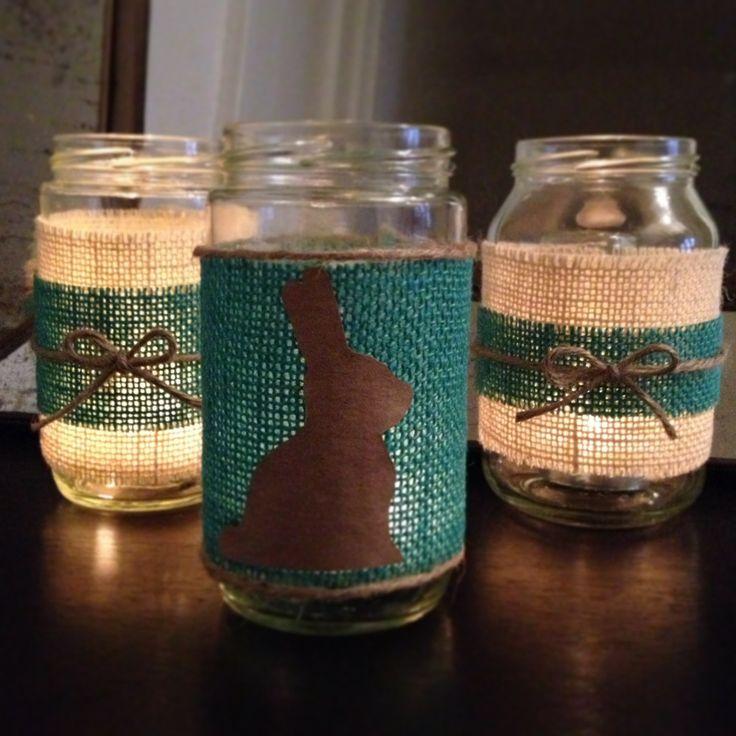 Craft Ideas Empty Jam Jars: Crafty Lumberjacks : Easter Jam Jars.