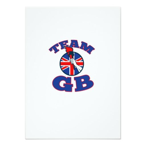 Team GB Hand Holding Flaming Torch British Flag Card. 2016 Rio Summer Olympics postcard with a retro illustration of an athlete hand holding a flaming torch with union jack Great Britain British flag set inside circle on isolated white background. #TeamGB #olympics #sports #summergames #rio2016 #olympics2016