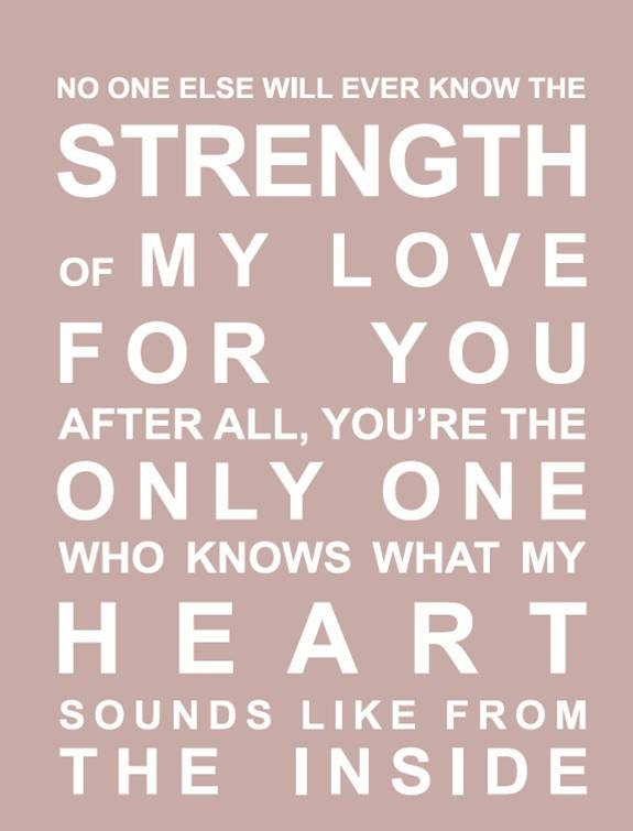 as a mother of 3, oh how I love these words!