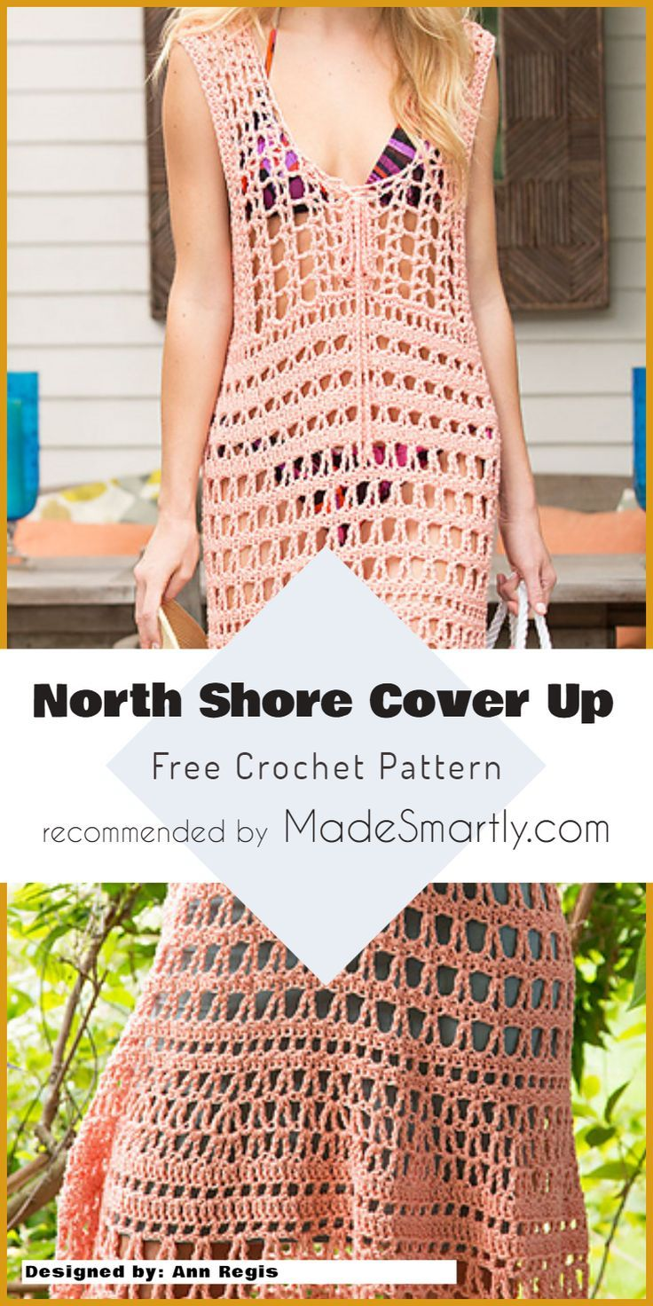 Crochet Beach Cover Up Free Patterns And Easy Ideas Crochet Clothes Crochet Summer Dresses Crochet Swimwear