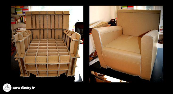 prendre que a peut tre solide un meuble en carton on. Black Bedroom Furniture Sets. Home Design Ideas