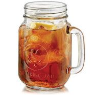 Hire Cocktail Glasses | Drinking Jars County Fair – 4 per set. 490 ml.  Inspired by the southern states of America, perfect for lemonade, ice tea and cider. Order at +353 (1) 687 5066