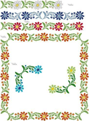 Bordura+margherite,+schema+per+tovaglia+e+tovaglioli+https://img-fotki.yandex.ru/get/5244..._91897a14_orig
