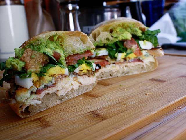 The Cobbwich, a tasty Cobb Salad sandwich
