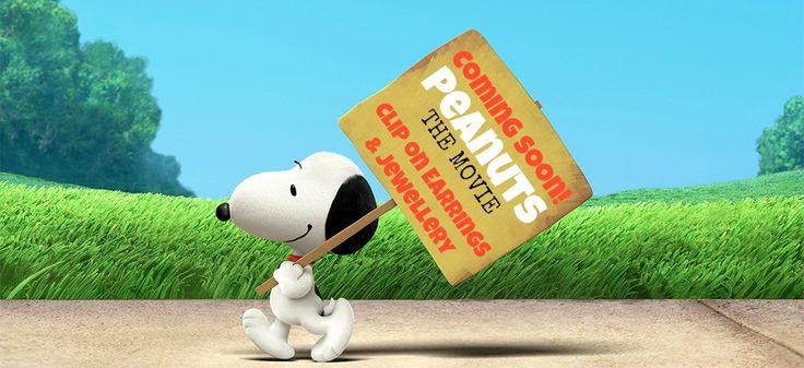 Peanuts Snoopy Clip On Earrings for Girls Australia