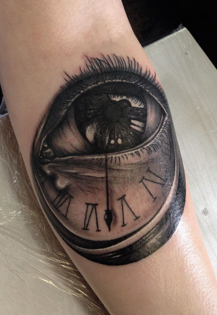 Eye clock auge pinterest clock clocks and eyes for Eye with clock tattoo