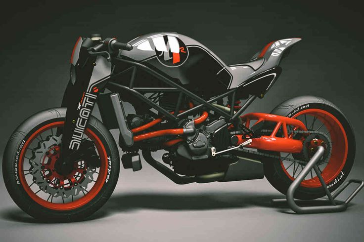 Naked Ducati by KBike Factory Custom Motorcycle //