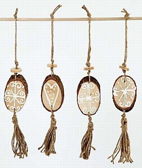 houten schijven decoratie - Google zoeken