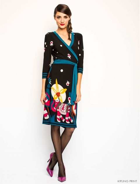 Leona Edmiston Samira dress with elephant print