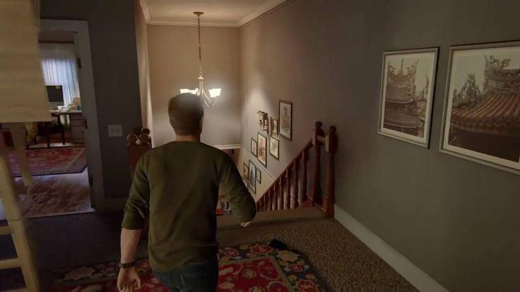 Nate on the upper floor