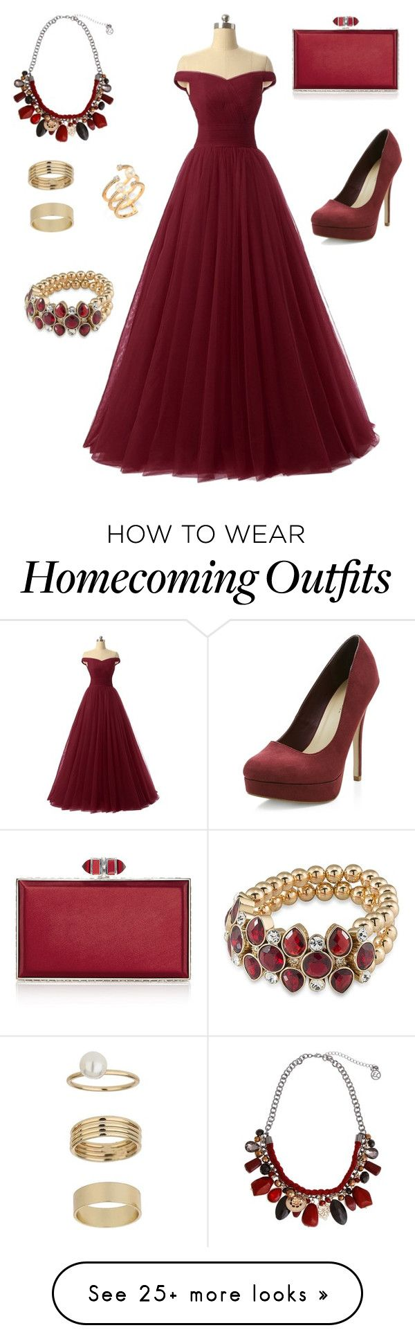 """""""Ball party"""" by ly-angel on Polyvore featuring New Look, Erica Lyons, Carolee, Judith Leiber, Hueb and Miss Selfridge"""