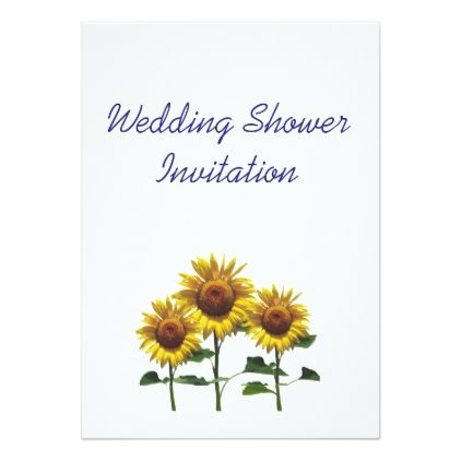 #Sunflowers Favors Ideas Wedding Shower Theme Card - couples shower invitations #showerinvitation #shower #weddinginvitations #wedding #invitations #party #card #cards #invitation #couple