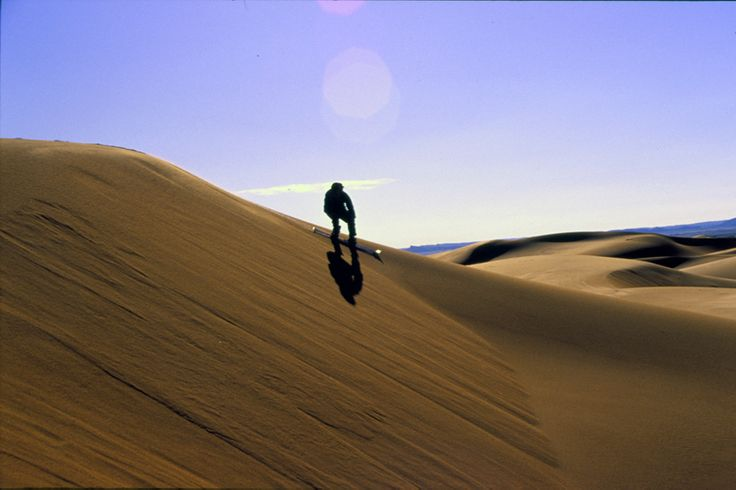 SAND BOARDING! With the Sahara Trek extension, you can get the chance to go sand boarding in the dunes. That sounds like fun.