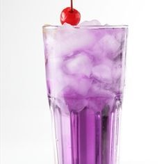 A neat cocktail for anytime of the year, when you put the pomegranate and pineapple juice together, it turns the coolest purple I have ever seen. - Purple Flip Flop