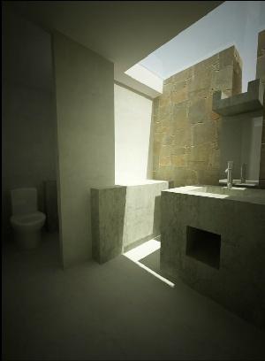 Luis Longhi, Pachacamac House Peru