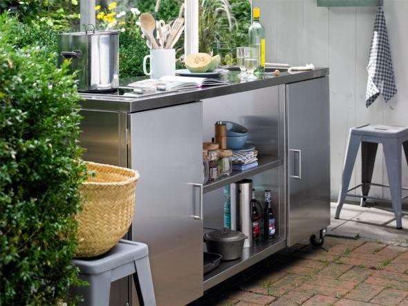 25+ Beste Ideeën Over Outdoor Küche Edelstahl Op Pinterest