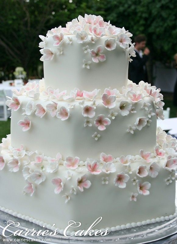"""""""Maddie"""" by Carrie's Cakes #wedding cake"""