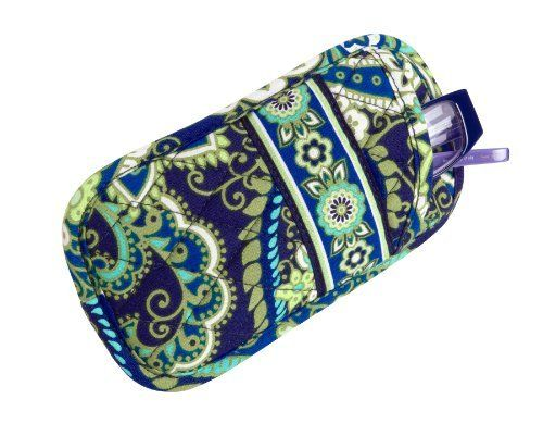 Vera Bradley Double Eye in Rhythm and Blues by Vera Bradley. $22.00. Always a favorite, this case's design easily holds two pair of eyeglasses, making it perfect for anyone with readers. A solid back helps it protect contents and retain its shape.