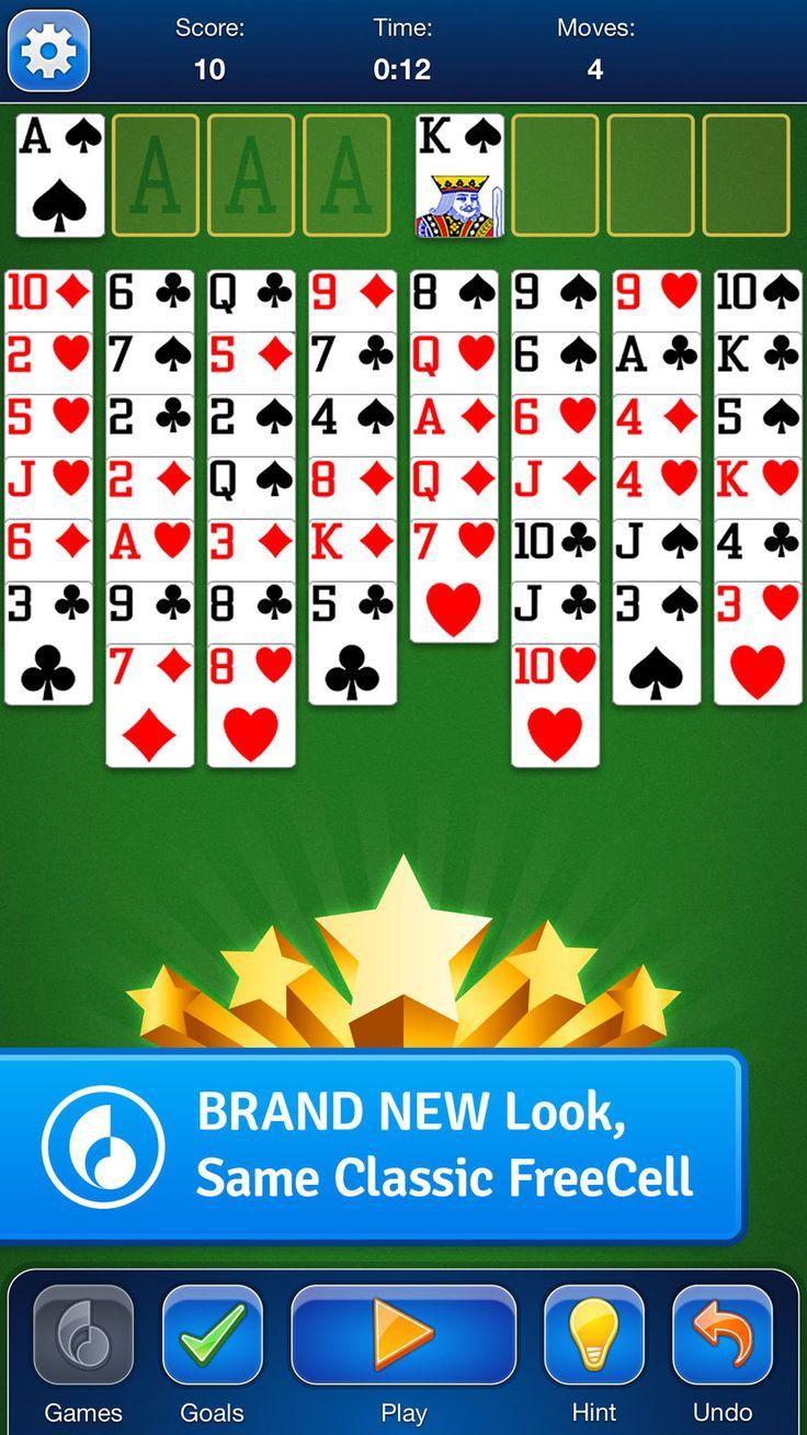 Freecell solitaire card game entertainmentgamesios