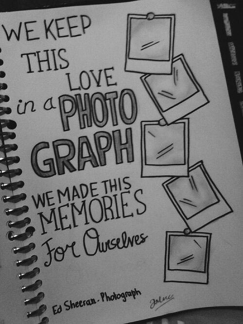 ed sheeran photograph lyrics | Tumblr