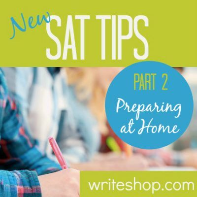New SAT essay tips   Preparing for the test